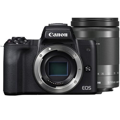 【高倍變焦組合】EOS M50 機身 (黑色) 連 EF-M 18-150mm f/3.5-6.3 IS STM 鏡頭