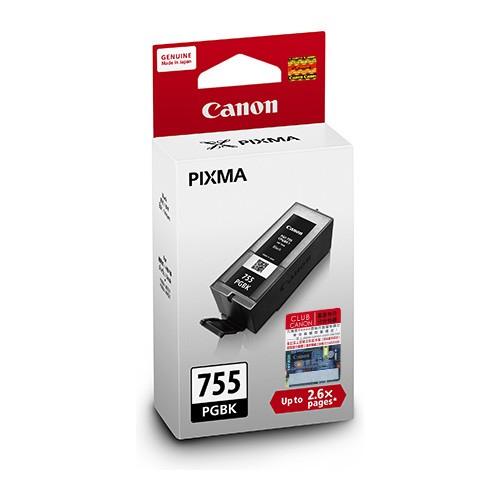 PGI-755 PGBK 黑色墨水盒 (特大高用量)