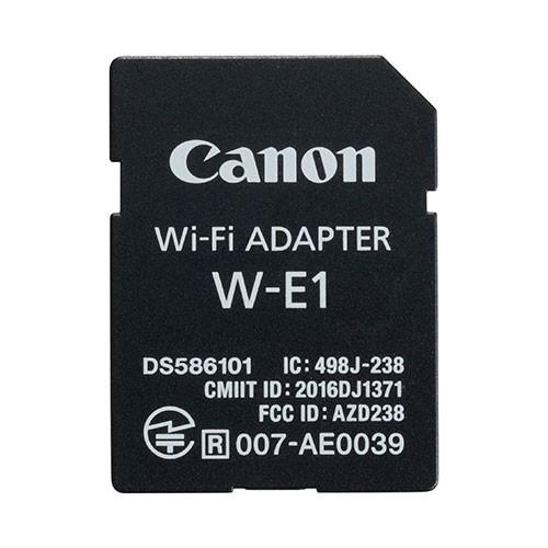 Wi-Fi 介面卡 W-E1(EOS 5DS、EOS 5DS R 及 EOS 7D Mark II 專用)