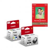 [網上套裝] PG-745XL + CL-746XL 相紙墨水優惠套裝