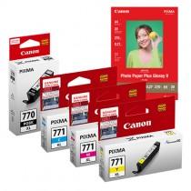 [網上套裝] PGI-770XL + CLI-771XL 相紙墨水優惠套裝