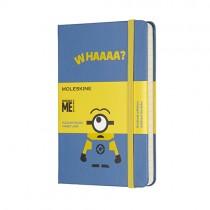 Moleskine Minions 限量版口袋型硬皮封面經典筆記簿, 藍色