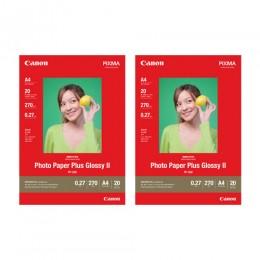 [網上套裝] PP-208 A4 高光澤多用途相紙 (20張) x2