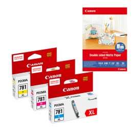 [網上套裝] CLI-781XL 墨水連 MP-101D 相紙優惠套