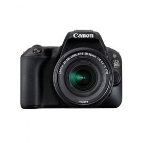 EOS 200D (黑色) 連EF-S 18-55mm f/4-5.6 IS STM (黑色) 鏡頭套裝 送電池 LP-E17