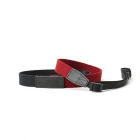 RED LABEL BY ARTISAN&ARTIST* AC310 環型扣/扁帶型扣相機帶 (黑色拼紅色) (預計送貨需時3個星期)