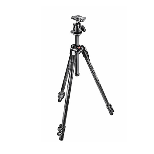 290 XTRA CARBON Kit, CF 3 sec. tripod with ball head