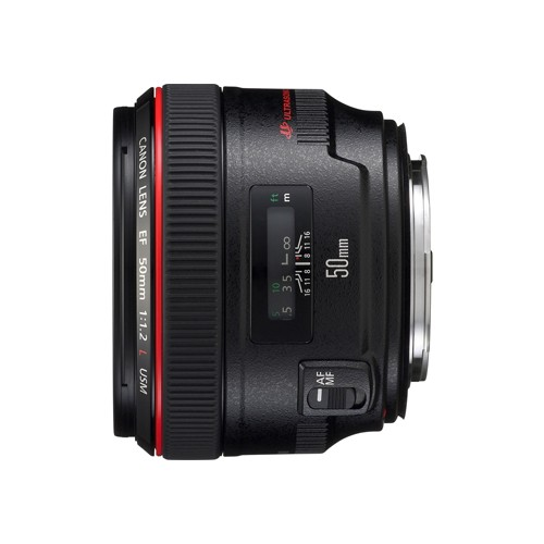 EF 50mm f/1.2L USM (Delivery will take 1 month)