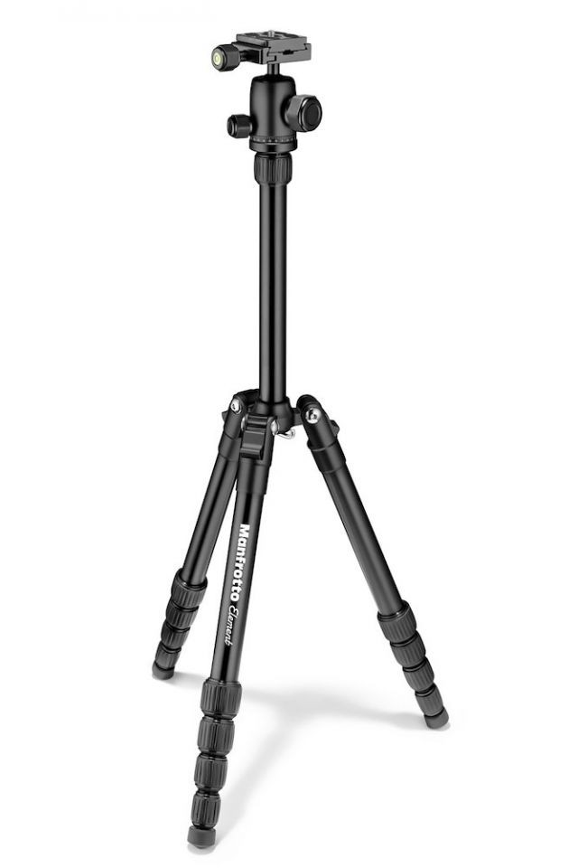 Manfrotto Element Traveller Tripod Small with Ball Head, Black (Delivery will take 2-3 months)