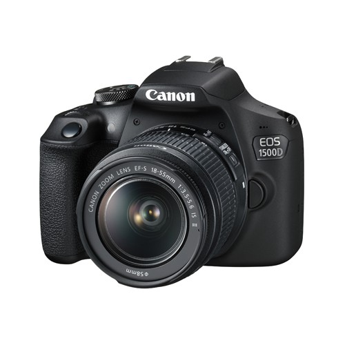 EOS 1500D with EF-S 18-55mm f/3.5-5.6 IS II Lens Kit Set