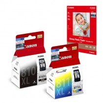 PG-810XL + CL-811XL Ink and Media Pack