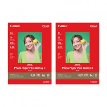 PP-208 Photo Paper Plus Glossy II A4(20 sheets) x2