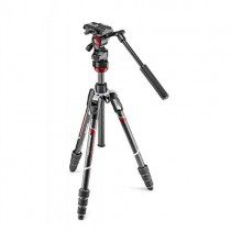 Manfrotto Befree live Carbon fibre tripod twist, video head (Delivery will take 2-3 months)