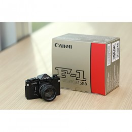 "Canon ""F-1"" miniature with 16GB USB Drive"