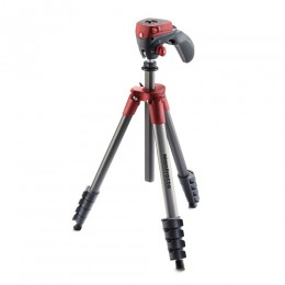 Manfrotto Compact Action Tripod (Red) (Delivery will take 2-3 months)