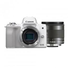 EOS M50 Body (White) + EF-M 11-22mm f/4-5.6 IS STM Free JOBY GorillaPod