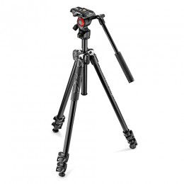 Befree live fluid head with Befree aluminum tripod system