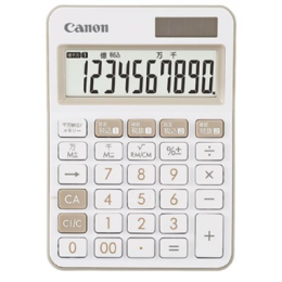 LS-105WUC Desktop Calculator (Ivory)