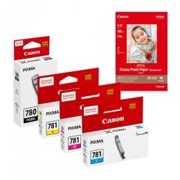[Online Set] PGI-780XL + CLI-781XL Ink and Media Pack