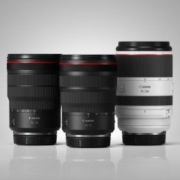 【Trinity Set】RF 70-200mm f/2.8L IS USM + RF 24-70mm f/2.8L IS USM + RF 15-35mm f/2.8L IS USM