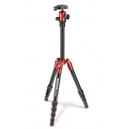 Manfrotto Element Traveller Tripod Small with Ball Head, Red MKELES5RD-BH