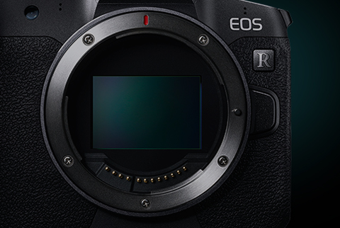 EOS R 可納入更多光線的54mm大口徑設計