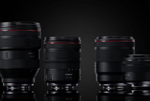 EOS R 影像質素更高的全新RF鏡頭系列